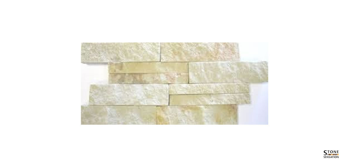 Sand Stone Interlocking Riven –  8pcs